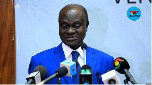 MP for Wenchi, Prof George Gyan Baffour