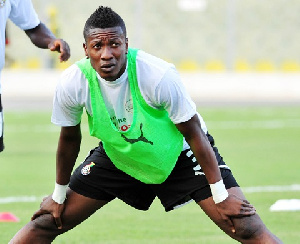 Black Stars General Captain, Asamoah Gyan