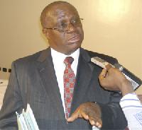 BoG governor, Dr Henry Kofi Wampah