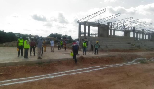 NYA express displeasure in delayed completion of Dunkwa-on-Offin Youth resource centre