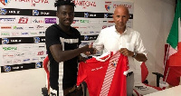 David Yeboah hopes to continue his goal scoring form with the Italian side