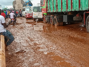 The Tamale-Techiman highway has been blocked