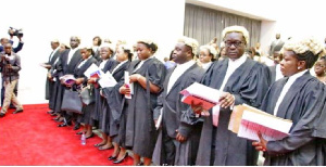A cross section of Judges in Ghana