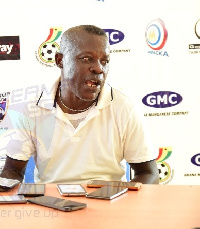 Karela United coach Johnson Smith