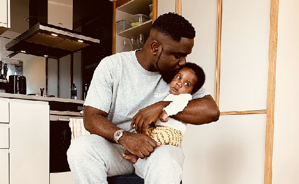 Sarkodie confirms birth of a baby boy with lovely Father's Day message