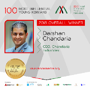Darshan Chandaria is the Group CEO and Shareholder of Chandaria Industries,