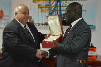 They were awarded for providing world-class container handling services
