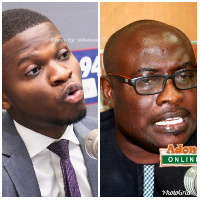 The leaked tape is purported to be the voice of Mr. Ofosu-Ampofo