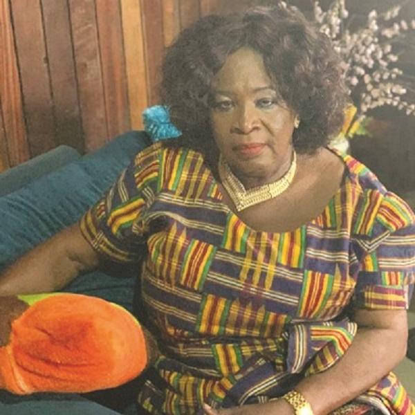 President of WOSPAG, Joyce Mahama