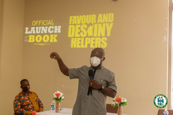 Staff of AMA launches book: 'Favour and Destiny Helpers'