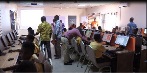 The ICT has been refurbished with 40 computers with full internet access