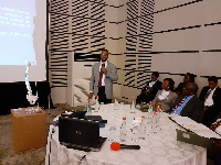 Dr. Gerhard Ofori-Amankwah addressing the conference