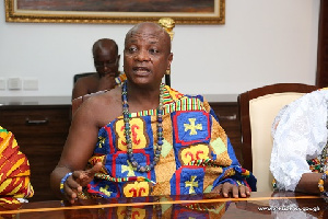 President of National House of Chiefs, Togbe Afede XIV