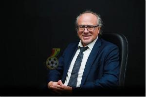 Technical Director Of Ghana Football Association, Bernhard Lippert.png