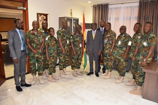 Ghana Armed Forces to support FAMA