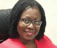 Second Deputy Governor of the Bank of Ghana, Elsie Awadzi