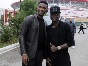 Samuel Eto'o and Samuel Inkoom