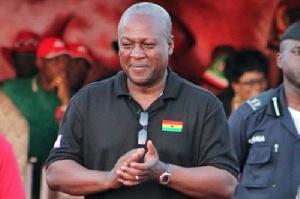 President John Mahama In Campaign3