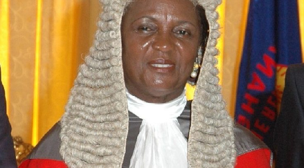 Former Chief Justice, Mrs Georgina Theodora Wood
