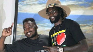Funny Face and Adebayor