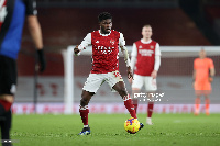 Thomas Partey in action