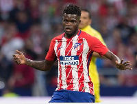 Partey's Atletico Madrid will face Borussia Dortmund, AS Monaco and Club Brugge