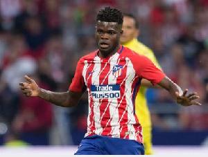 Ghanaian midfielder, Thomas Partey