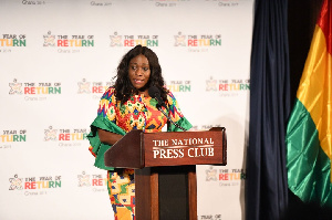 Tourism Minister, Catherine Afeku