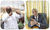 Nana Akufo-Addo, President-elect, [L], and JOY