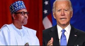 President Muhammadu Buhari and U.S President Joe Biden