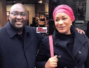 Vice President Dr. Bawumia with wife Samira Bawumia