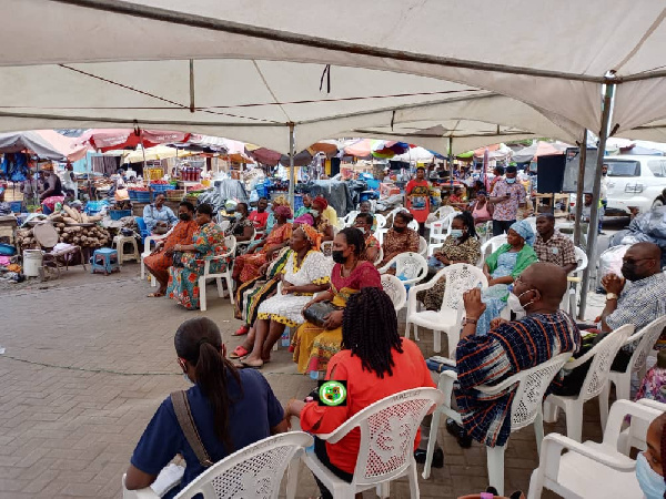 Market women at the Dome Market urged to participate in the census