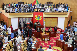There was a heated debate in Parliament between the Majority and Minority