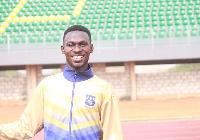 Benjamin Azamati is a member of Ghana's Olympic Games athletics team