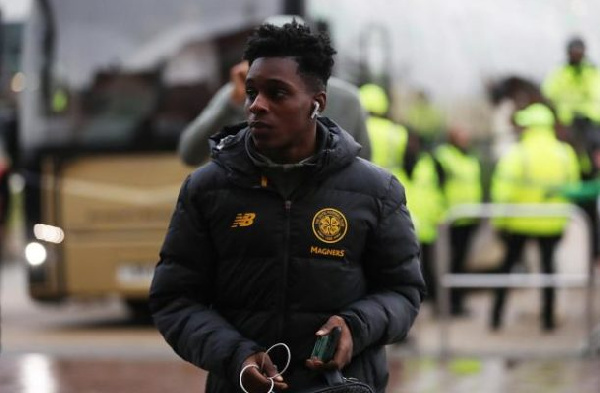 Jeremie Frimpong makes Celtic return after injury lay off