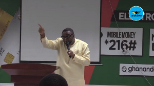 Elvis Afriyie Ankrah, Director of Elections of the National Democratic Congress (NDC)