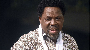 Founder of di Synagogue Church of All Nations, Pastor T.B. Joshua