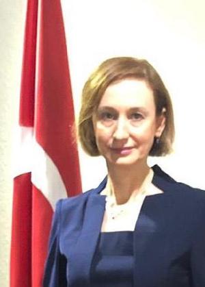 Turkish Ambassador to Ghana, Özlem Gülsün Ergün Ulueren