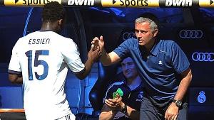 Essien played for Madrid under Jose