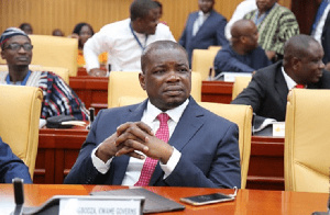Ranking Member on the roads and transport committee of parliament, Kwame Governs Agbodza