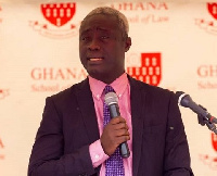 Senior Lecturer of the Ghana School of Law, Maxwell Opoku Agyeman