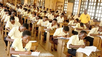 WASSCE candidates writing exams