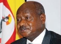 Uganda's president Yoweri Museveni. Photo/FILE