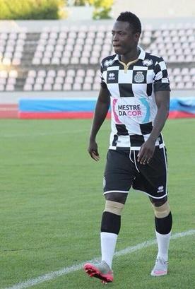 Ghana and Boavista defender Samuel Inkoom
