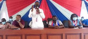 NPP AAK chair, Phileas Kweku Baah Ewudzie
