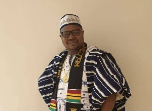 Clir Dominic Mbang is the Chairman of the London South Branch of the NDC
