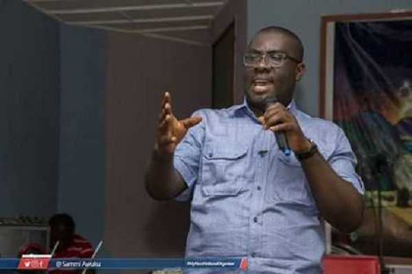 'Akufo-Addo is in competition with Colonial Masters not NDC'