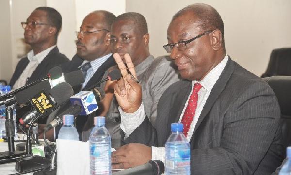 Executive Secretary of the Accreditation Board, Kwame Darteh
