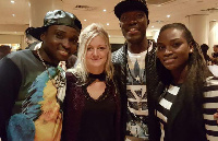 Reggie N Bollie with their wives