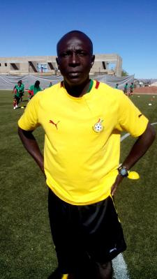 Ghana coach Yusif Basigi